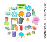 computer expertise icons set.... | Shutterstock .eps vector #1240299940