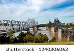 Mississippi Railroad Bridge Vicksburg  is a cantilever bridge also known as  Old Vicksburg Bridge.