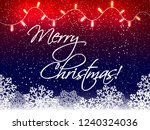 christmas background with... | Shutterstock .eps vector #1240324036