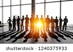 they are business professionals | Shutterstock . vector #1240375933