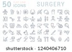 set of vector line icons of...   Shutterstock .eps vector #1240406710
