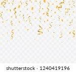 colorful bright confetti... | Shutterstock . vector #1240419196