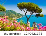 scenic panoramic view of famous ... | Shutterstock . vector #1240421173