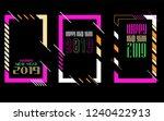 modern trend in the graph.... | Shutterstock .eps vector #1240422913