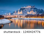 classic view of the historic... | Shutterstock . vector #1240424776