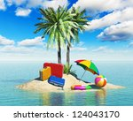 travel  tourism and vacations... | Shutterstock . vector #124043170