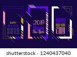 vector vertical background... | Shutterstock .eps vector #1240437040