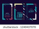 vector vertical background... | Shutterstock .eps vector #1240437070