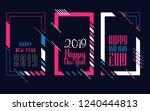 vector vertical background... | Shutterstock .eps vector #1240444813