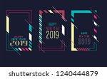 vector vertical background... | Shutterstock .eps vector #1240444879