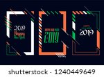 vector vertical background... | Shutterstock .eps vector #1240449649
