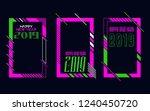 vector vertical background... | Shutterstock .eps vector #1240450720