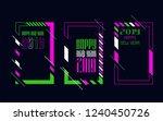 vector vertical background... | Shutterstock .eps vector #1240450726