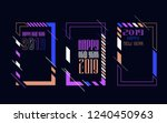 vector vertical background... | Shutterstock .eps vector #1240450963