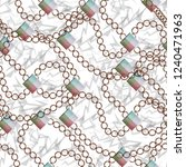 seamless pattern jewelry design.... | Shutterstock . vector #1240471963