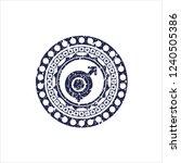 blue gender dysphoria icon...   Shutterstock .eps vector #1240505386