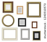 wall pictures and photo frames  ... | Shutterstock .eps vector #1240510573