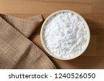 top view mung bean starch...   Shutterstock . vector #1240526050