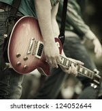 rock and roll | Shutterstock . vector #124052644