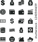 solid black vector icon set  ... | Shutterstock .eps vector #1240544659