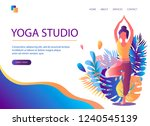 Web Page Template Of Yoga...