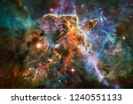 nebulae an interstellar cloud... | Shutterstock . vector #1240551133
