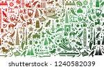 vector illustration green...   Shutterstock .eps vector #1240582039