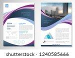 template vector design for... | Shutterstock .eps vector #1240585666