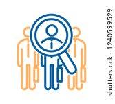 vector trendy thin line icon...   Shutterstock .eps vector #1240599529
