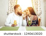 portrait of a happy young...   Shutterstock . vector #1240613020