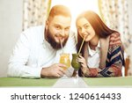 portrait of a happy young...   Shutterstock . vector #1240614433