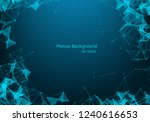 geometric graphic background... | Shutterstock .eps vector #1240616653