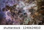 high definition star field... | Shutterstock . vector #1240624810
