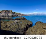volcanic lava coastline of the... | Shutterstock . vector #1240625773