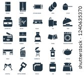 elements such as toaster  jar ... | Shutterstock .eps vector #1240635370