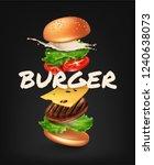 vector realistic illustration... | Shutterstock .eps vector #1240638073