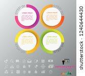 vector illustration colorful... | Shutterstock .eps vector #1240644430