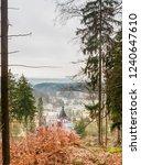view of  marianske lazne spa ... | Shutterstock . vector #1240647610