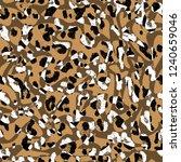 modern leopard design | Shutterstock . vector #1240659046