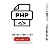 php vector icon
