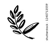 icon vector leaf. eco nature... | Shutterstock .eps vector #1240713559