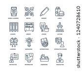 graduation  homework ... | Shutterstock .eps vector #1240728610