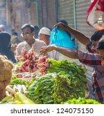 delhi  india   oct 16  man... | Shutterstock . vector #124075150