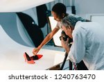 product photography shoot of... | Shutterstock . vector #1240763470