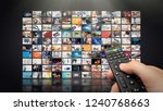 television streaming video... | Shutterstock . vector #1240768663