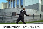 lawyer extremely happy about... | Shutterstock . vector #1240769176