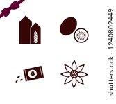 crop icon. crop vector icons...   Shutterstock .eps vector #1240802449