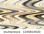 colorful wavy mosaic striped... | Shutterstock . vector #1240814020