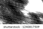 black and white grunge pattern... | Shutterstock . vector #1240817509
