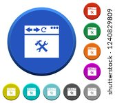browser tools round color... | Shutterstock .eps vector #1240829809